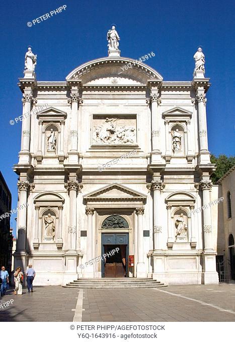 Church of San Rocco in Venice Italy