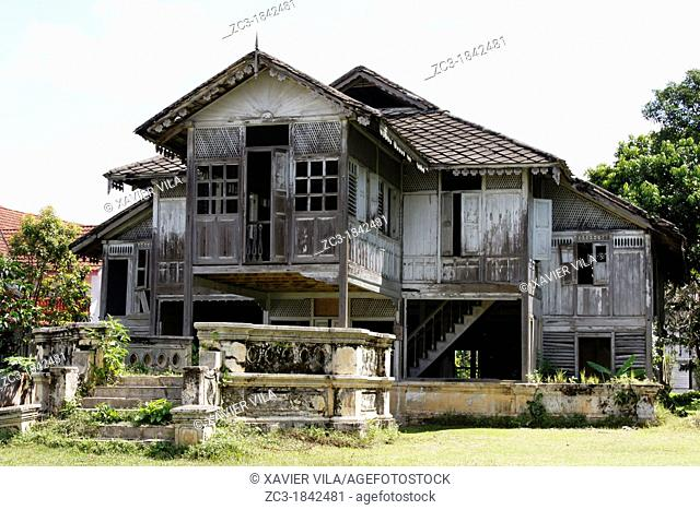 Traditional malay house, Kuala Kangsar, Perak, Malaysia