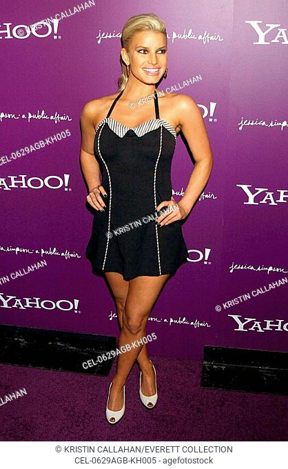 Jessica Simpson at arrivals for A Public Affair CD Release Party for Jessica Simpson, Roxy night club, New York, NY, August 29, 2006