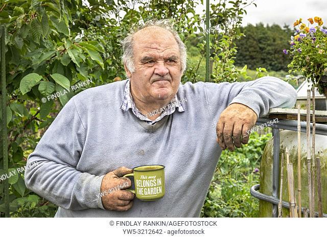 Plot 10 William Dorans, Eglinton Growers Allotments, Kilwinning, Ayrshire, Scotland, UK