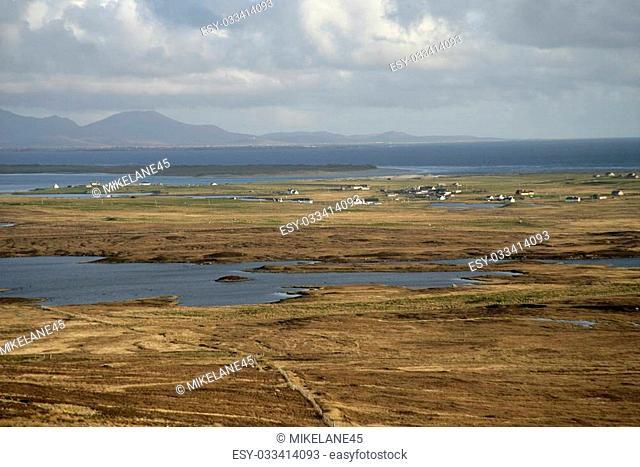 North Uist in the Hebrides, Scotland