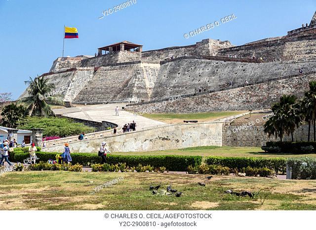 Cartagena, Colombia. Castillo de San Felipe de Barajas, 17th-18th Century