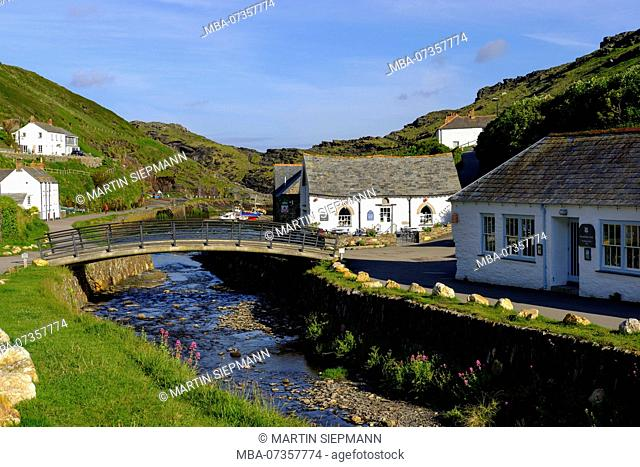 River Valency, Boscastle, Cornwall, England, UK