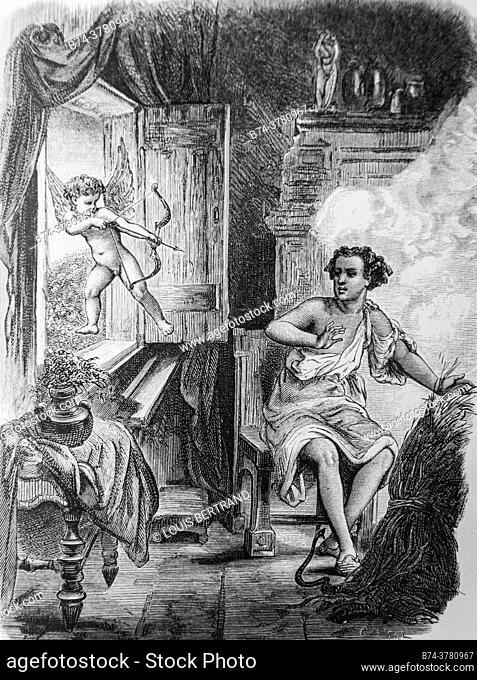 love wets, contes de la fontaine publisher garnier freres 1870