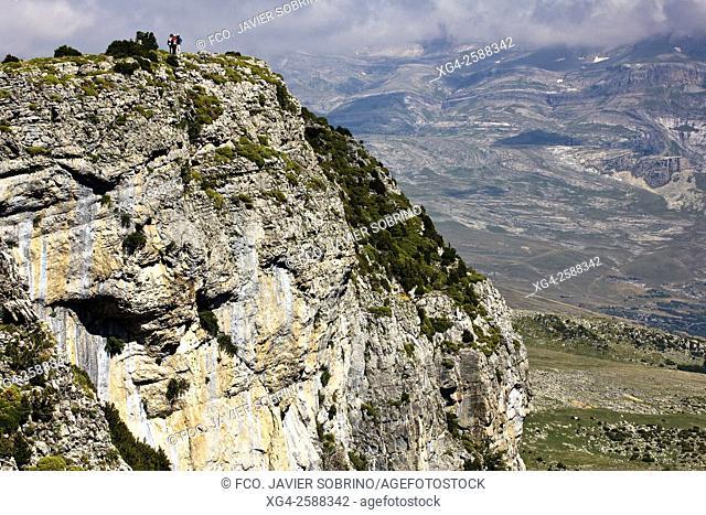 Cañón de Añisclo - Parque Nacional de Ordesa y Monte Perdido. Valle de Ordesa - Torla - Sobrarbe - Huesca. Pirineo Aragones - Aragon - España
