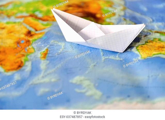 Model - World Map, world map papercraft, low poly world map, paper ... | 466x640