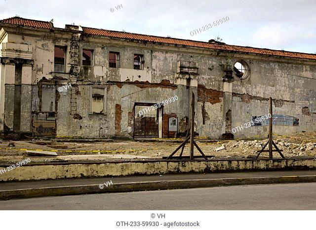 Ruins, Intramuros, Manila, Philippines