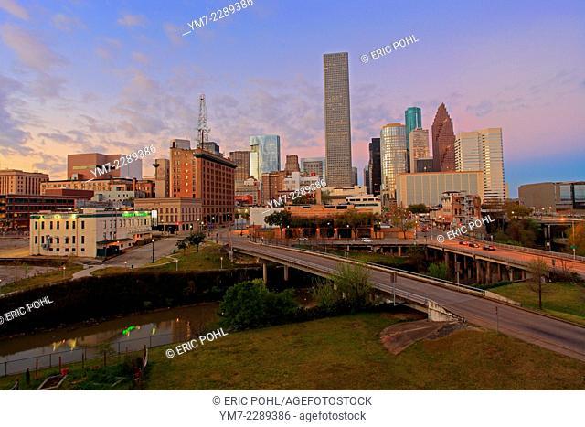 Houston Downtown - Houston, Texas