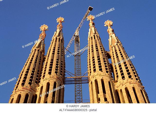 Spain, Barcelona, Sagrada Familia