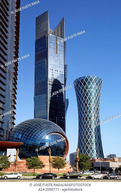 Qatar , Doha City, Tornado Bldg