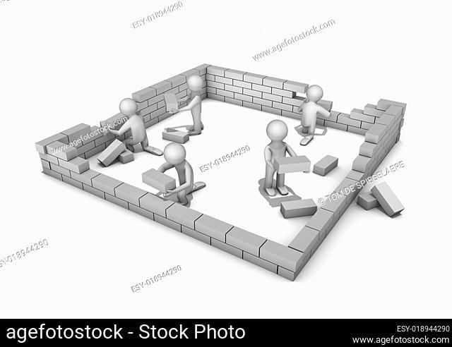 Building a house