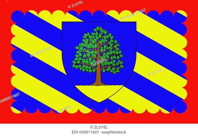 Flag of Chateau-Chinon is a commune in the Nievre department in France. It is a sub-prefecture of the department