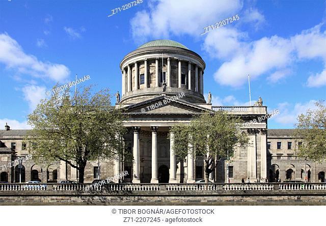 Ireland, Dublin, Four Courts,