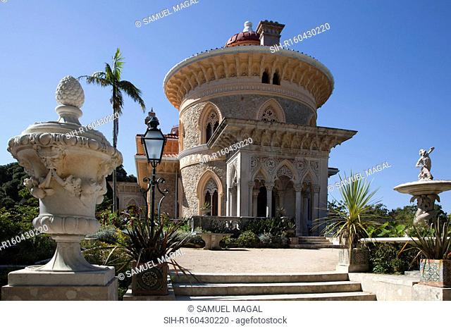 The romantic palace was designed by James Knowles Jr. and was built in 1858. It is a fine example of Sintra Romanticism. The town of Sintra is a UNESCO World...
