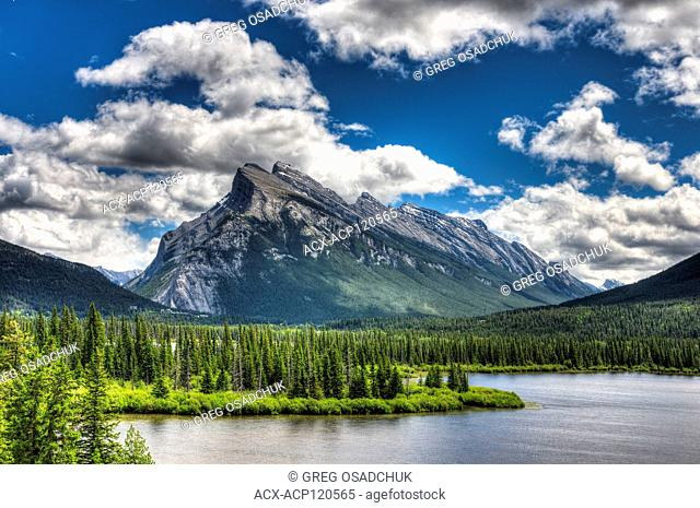 Mount Rundle and Vermillion Lakes, Banff National Park