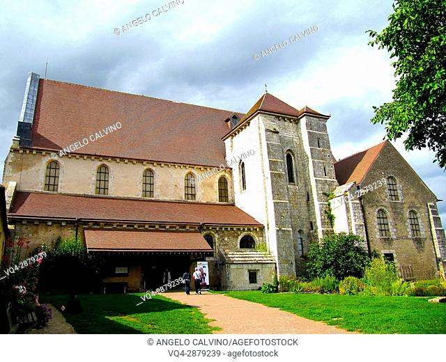 Old Church, Collegiale St. Andre, Chartres, France.