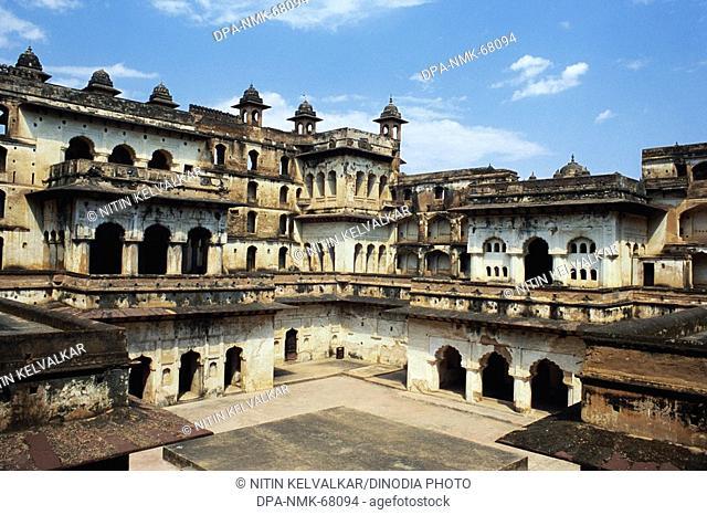 Raja Mahal , Orchha , Madhya Pradesh , India