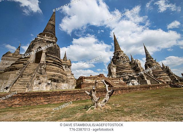Wat Mahathat, Ayutthaya Historical Park, Thailand