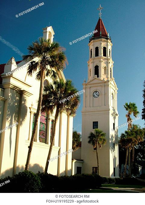 St. Augustine, FL, Florida, The Old City, Cathedral Basilica of St. Augustine