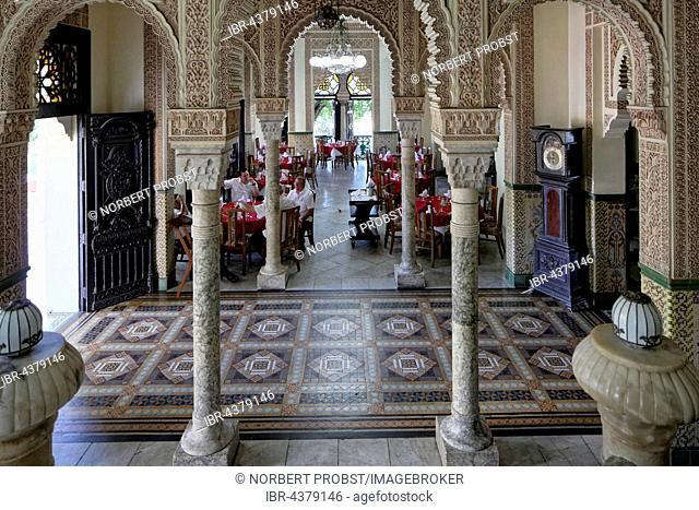Entrance hall, Palacio de Valle, architect Alfredo Colli, built 1913-1917, historic city centre, Cienfuegos, Cienfuegos Province, Cuba