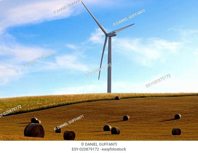 straw bales and energy