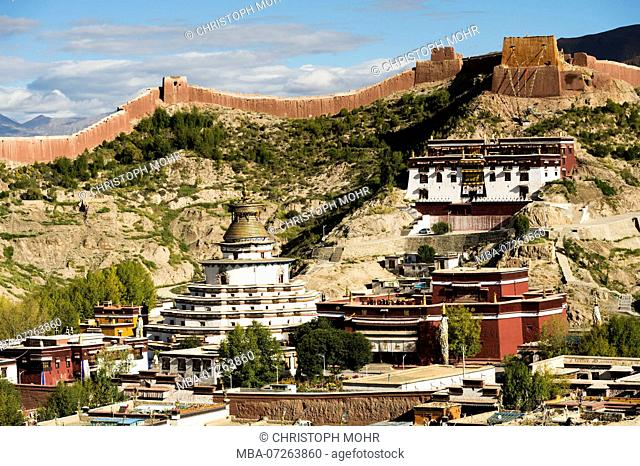 the old town of Gyantse
