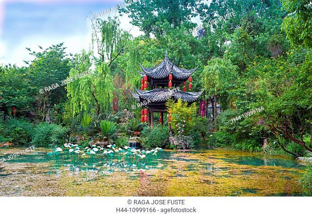 China, Sichuan Province, Chengdu City, Nanjiao Park