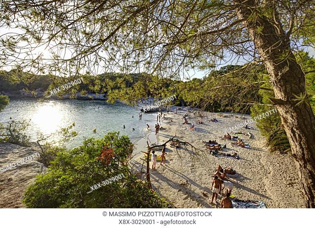 Cala en Turqueta in Minorca, Balearic Islands, Spain