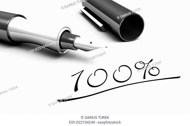 100% - Stift Konzept