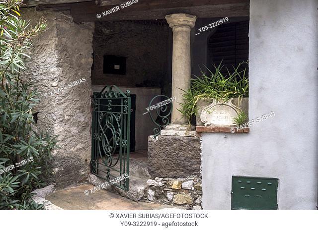 Gate of Badia Carmine, Taormina, Sicily, Italy