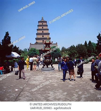 Eine Reise nach China, 1980er Jahre. A trip to China, 1980s