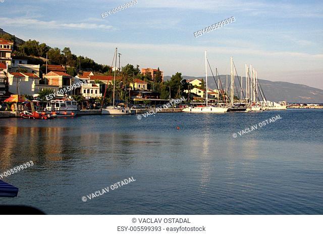 fishing port,Agia Efimia,Cephalonia