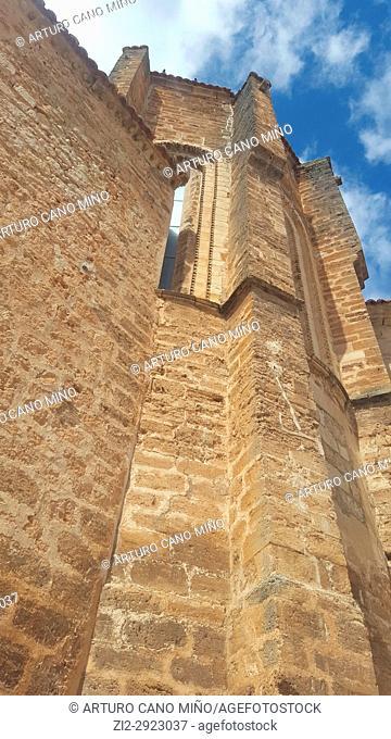 The Church of San Salvador, XIII-XVIIth centuries. Cifuentes town, Guadalajara province, Spain
