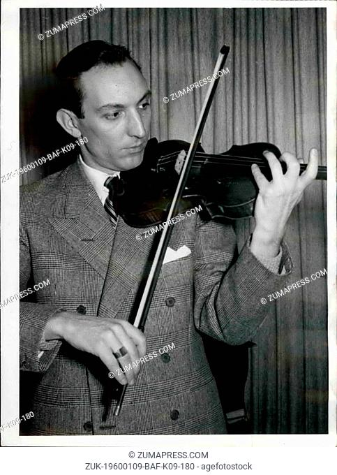 1948 - A New Star on the Heaven of Music: Renato de Barbieri: Renato de Barbieri, the young Italian violinist who at present gives his performance in all German...