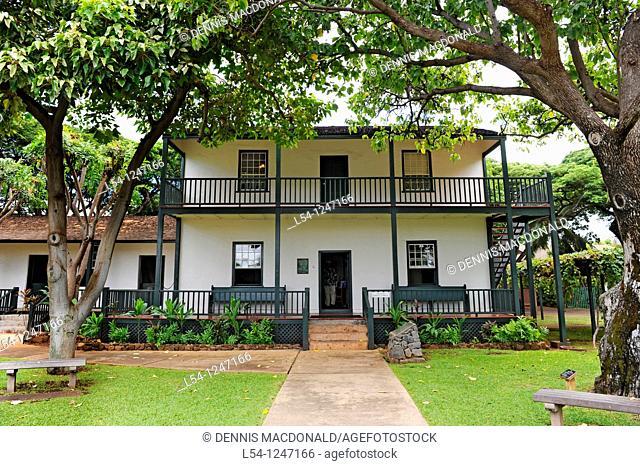 Historic Baldwin Home Museum Lahaina Maui Hawaii Pacific Ocean