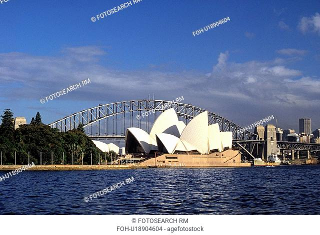 sydney, house, city, harbour, bridge, opera