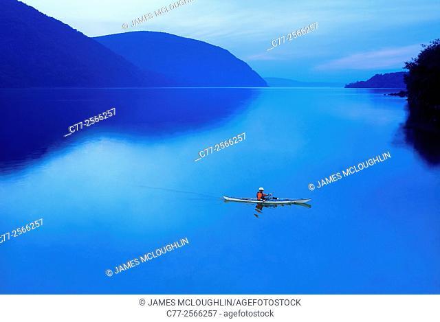 Kayak, water scene