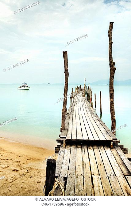 Bo Phut beach, Ko Samui Island, Thailand, Asia