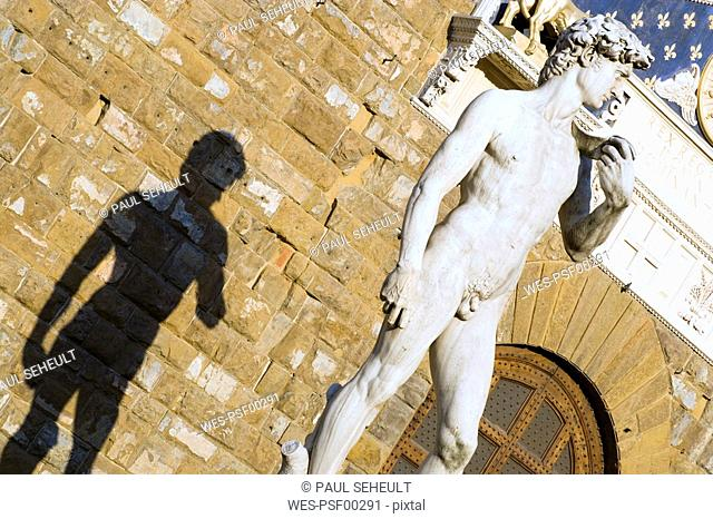 Italy, Tuscany, Florence, Statue of David