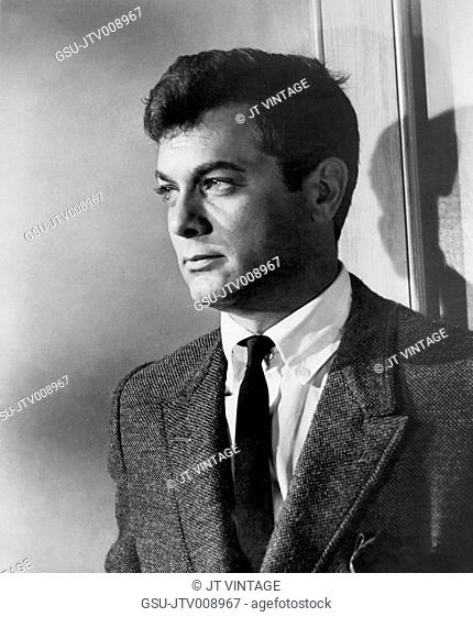 Tony Curtis, on-set of the Film, Who Was That Lady?, Columbia Pictures, 1960