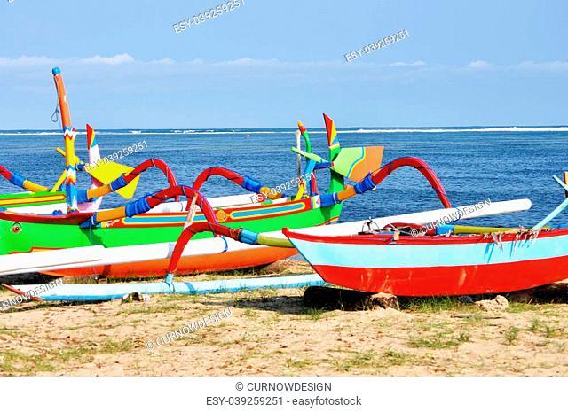 Colourful Boats, Sanur