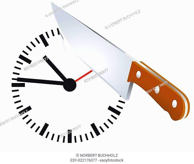 Zeit abschneiden