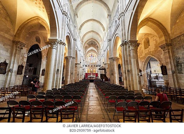 Collégiale Notre-Dame, Beaune, Côte d'Or, Burgundy Region, Bourgogne, France, Europe