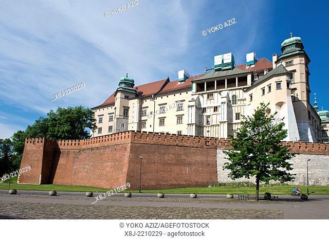 Poland, Krakow, Wawel complex