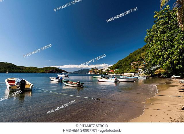 France, Guadeloupe (French West Indies), Les Saintes, Terre de Haut, Anse Mire
