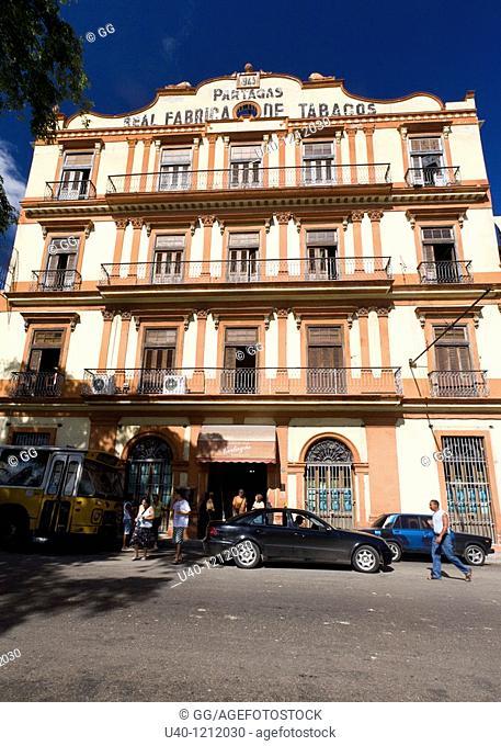 Cuba, Havana, Partagas Cigar Factory