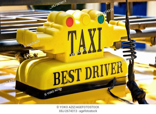 Taxi, Asmara, Eritrea