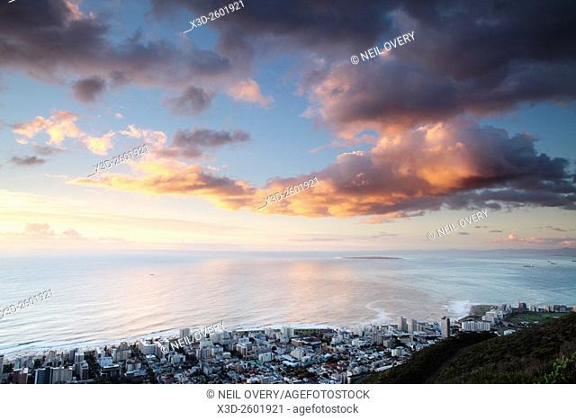 Green Point at Sunset, Cape Town, South Africa