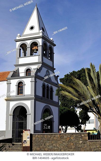 Parish church of Nuestra Senora del Rosario, Puerto del Rosario, Fuerteventura, Canary Islands, Spain, Europe
