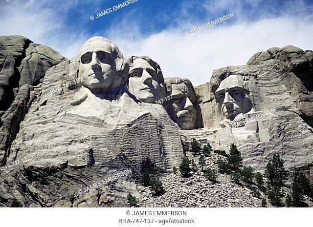 Mount Rushmore National Monument, Black Hills, South Dakota, United States of America, North America